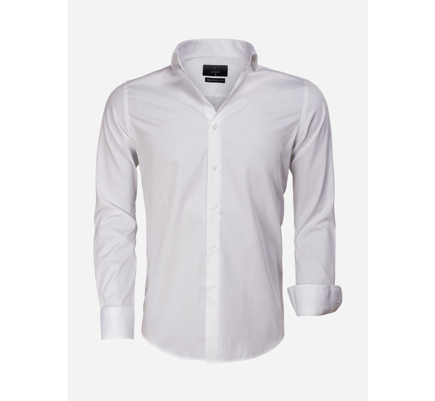 Overhemd Lange Mouw 65011 Carrara White