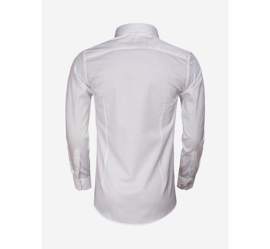 Shirt Long Sleeve 65011 Carrara White