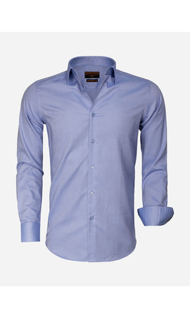 Gaznawi Overhemd Lange Mouw 65001 Detroit Blue