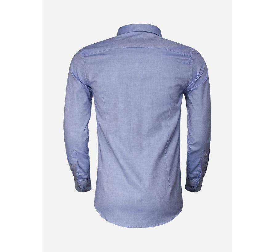 Shirt Long Sleeve 65001 Detroit Blue