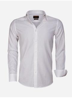 Gaznawi Overhemd Lange Mouw 65001 Detroit White