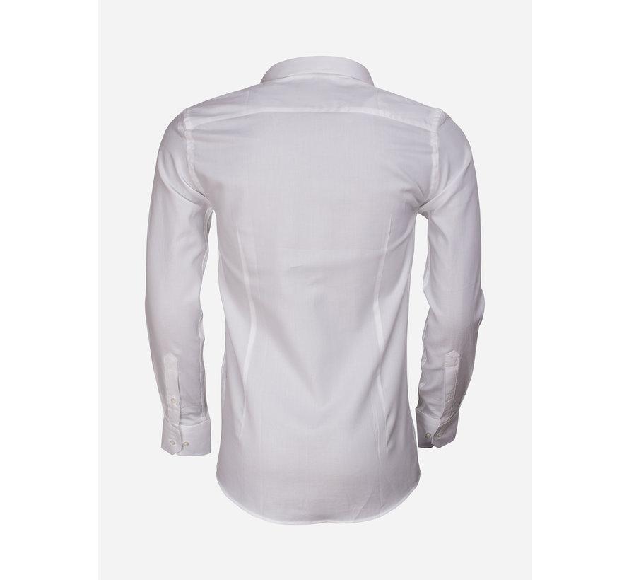 Overhemd Lange Mouw 65001 Detroit White