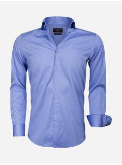 Gaznawi Shirt Long Sleeve 65011 Carrara Dark Blue