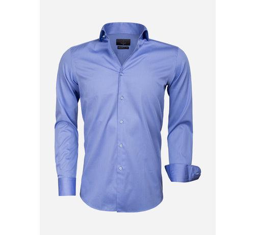 Gaznawi Overhemd Lange Mouw 65011 Carrara Dark Blue