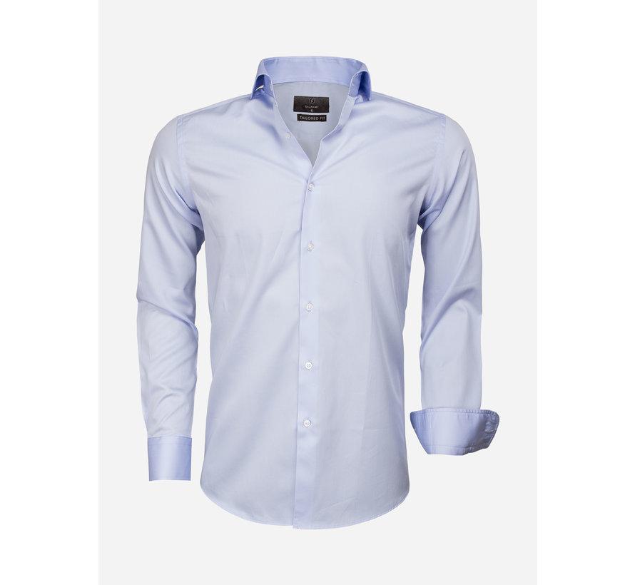 Overhemd Lange Mouw 65011 Carrara Blue