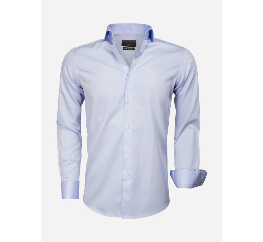 Shirt Long Sleeve 65011 Carrara Blue