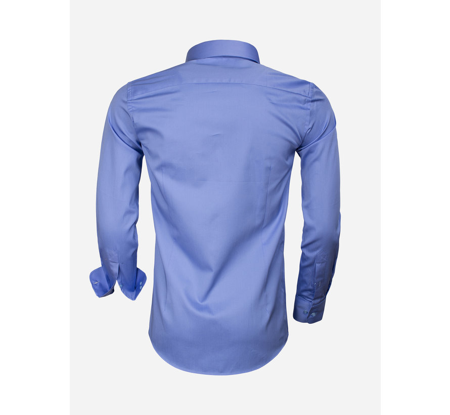 Overhemd Lange Mouw 65011 Carrara Dark Blue