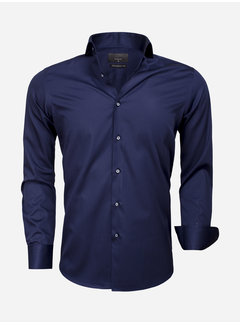 Gaznawi Shirt Long Sleeve 65011 Carrara Navy