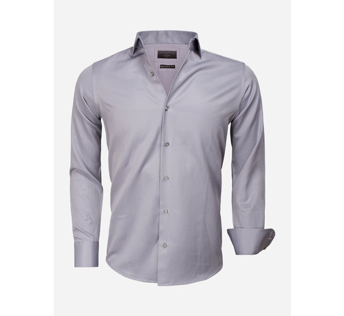 Gaznawi Shirt Long Sleeve 65012 Caserta Dark Grey