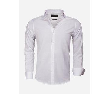 Gaznawi Overhemd Lange Mouw 65012 Caserta White