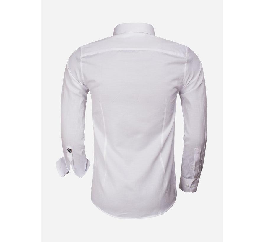 Shirt Long Sleeve 65012 Caserta White