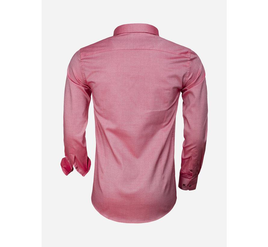 Overhemd Lange Mouw 65001 Detroit Red