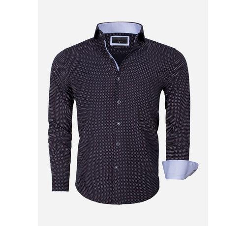 Gaznawi Shirt Long Sleeve Brindisi 65013 Black