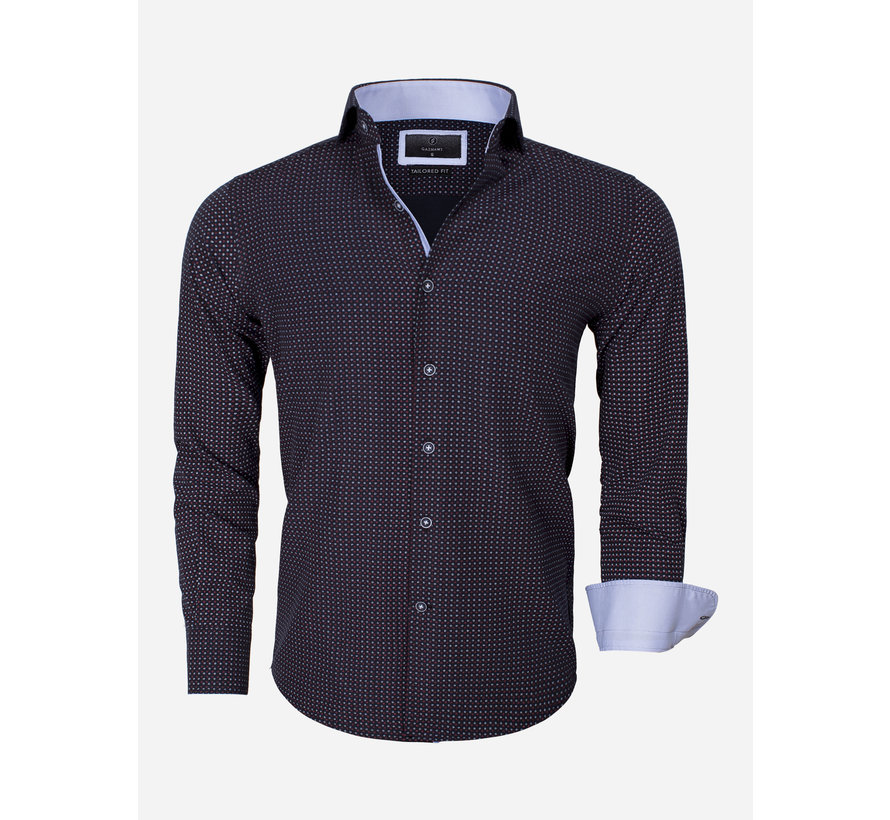 Overhemd Lange Mouw Brindisi 65013 Black