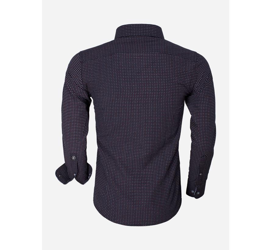 Shirt Long Sleeve Brindisi 65013 Black