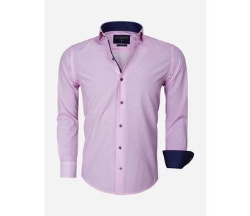Gaznawi Overhemd Lange Mouw 65013 Brindisi Roze