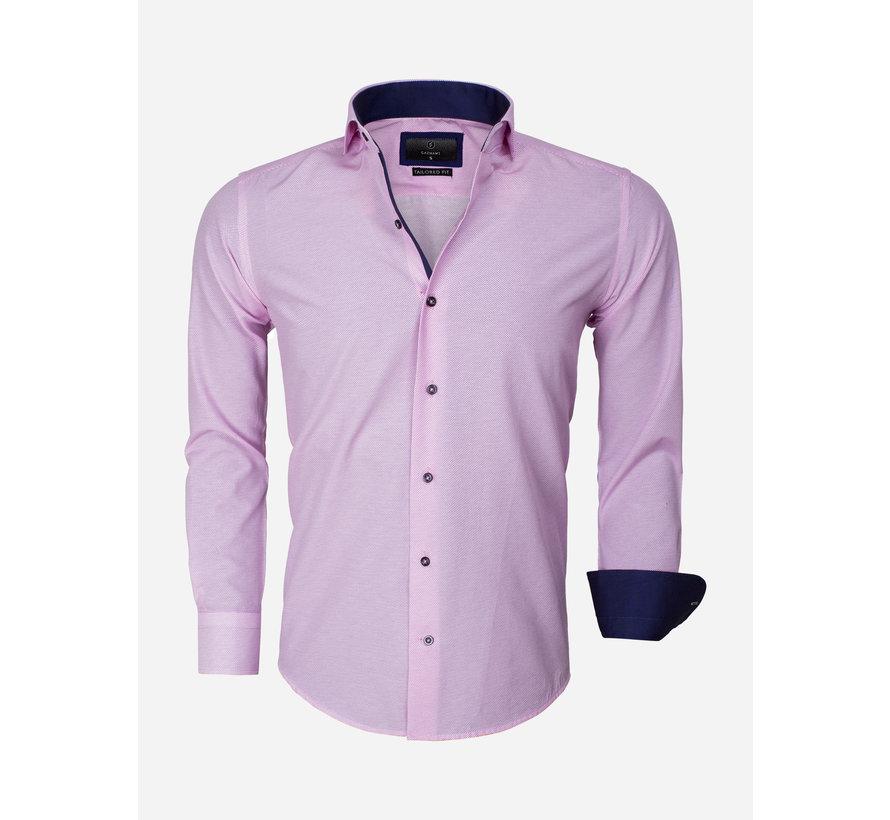 Overhemd Lange Mouw 65013 Brindisi Dark Pink