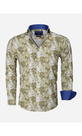 Gaznawi Overhemd Lange Mouw 65013 Brindisi Green