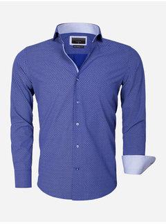 Gaznawi Shirt Long Sleeve 65013 Brindisi Light Navy