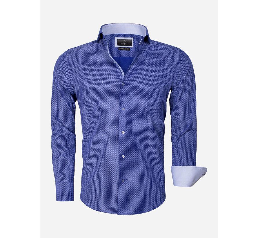Overhemd Lange Mouw 65013 Brindisi Light Navy