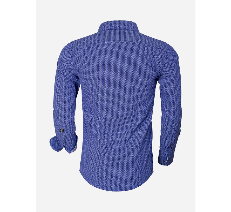 Shirt Long Sleeve 65013 Brindisi Light Navy
