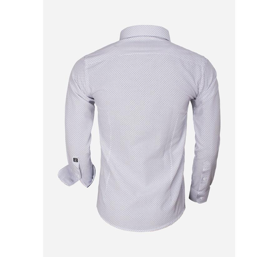 Overhemd Lange Mouw 65013 Brindisi White