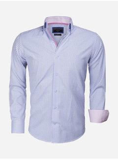 Gaznawi Overhemd Lange Mouw 65014 Brescia Light Blue