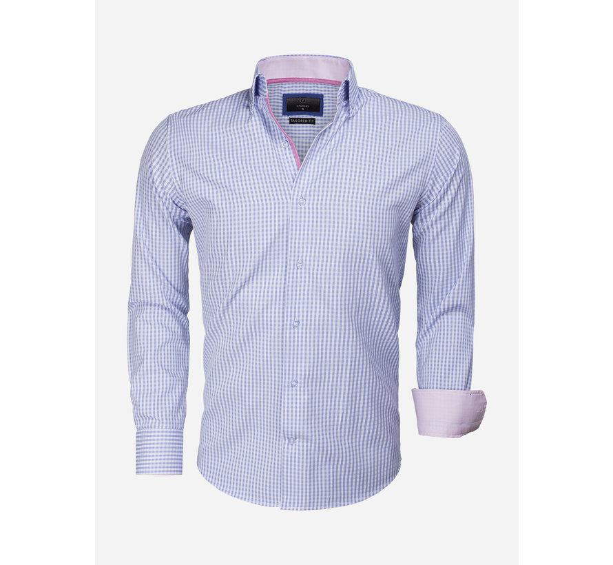 Overhemd Lange Mouw 65014 Brescia Light Blue