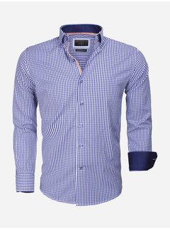 Gaznawi Shirt Long Sleeve 65014 Brescia Light Navy