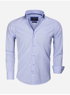 Gaznawi Overhemd Lange Mouw 65016 Blue
