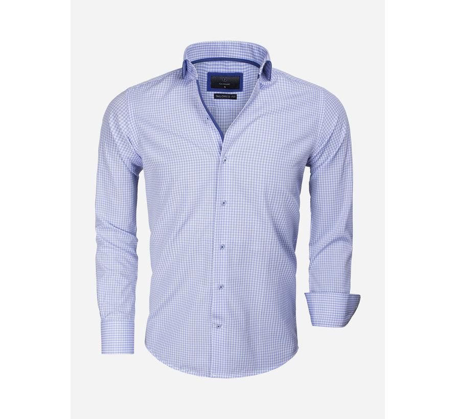Overhemd Lange Mouw 65016 Blue
