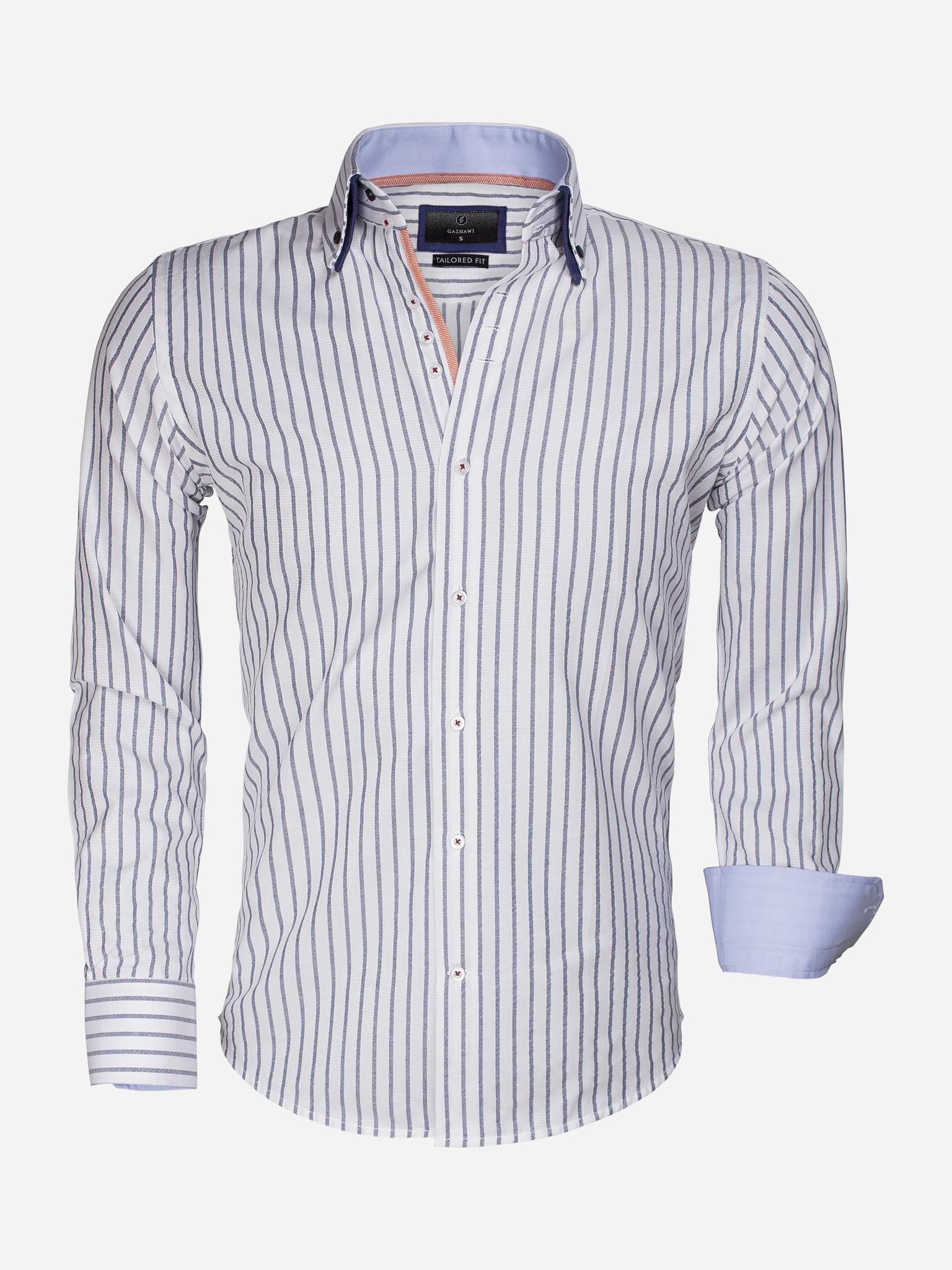 Gaznawi Overhemd Lange Mouw 6501 Maat: 2XL