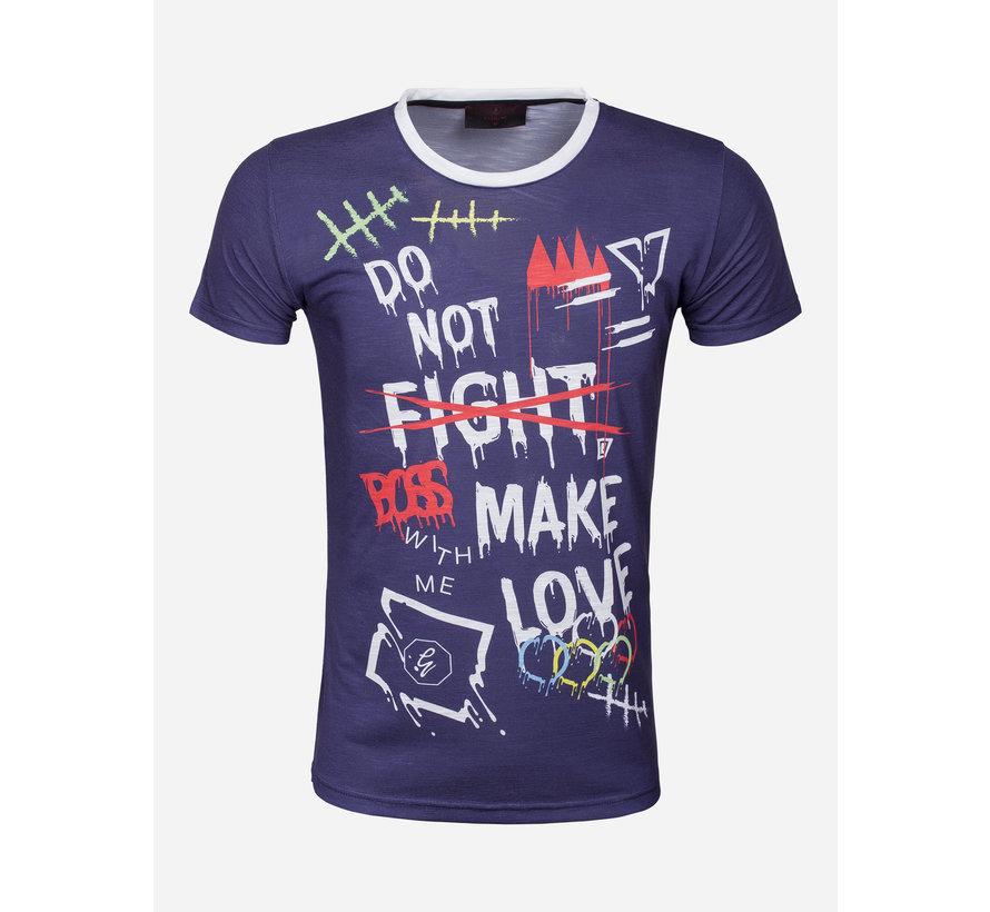 T-Shirt 69066 Los Angeles Navy