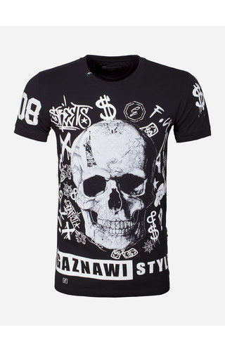 Gaznawi T-Shirt 69077 Omaha Black
