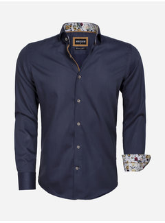 Wam Denim Overhemd  Lange Mouw 75542 Anthrecite