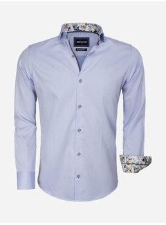 Wam Denim Overhemd Lange Mouw 75542 Light Blue