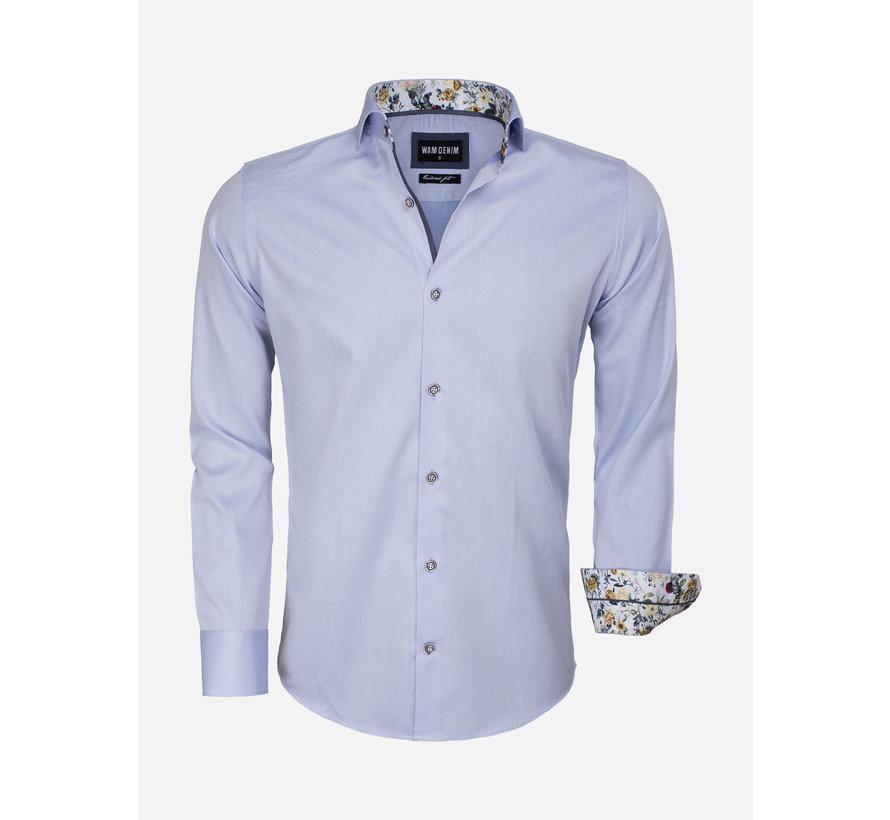 Overhemd Lange Mouw 75542 Light Blue