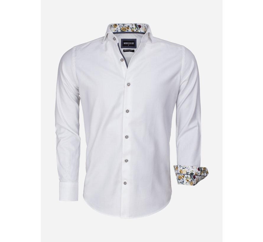 Overhemd Lange Mouw 75542 White