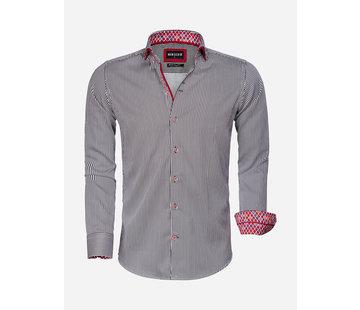 Wam Denim Overhemd Lange Mouw 75544 Black