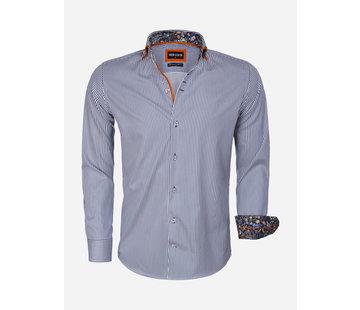 Wam Denim Overhemd Lange Mouw 75544 Navy