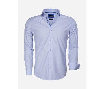Wam Denim Overhemd Lange Mouw 75545 Blue