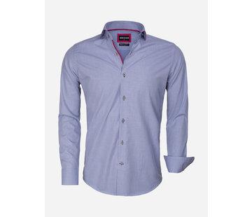 Wam Denim Overhemd Lange Mouw 75545 Navy