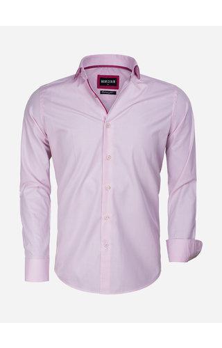 Wam Denim Overhemd Lange Mouw 75545 Pink