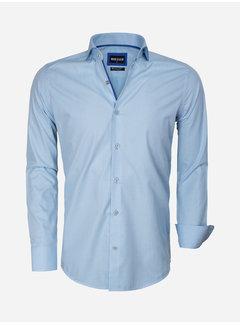 Wam Denim Overhemd Lange Mouw 75545 Turquoise