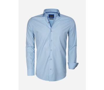 Wam Denim Shirt Long Sleeve 75545 Turquoise