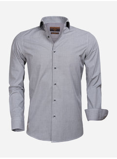 Gaznawi Shirt Long Sleeve 65000 Cagliari Black White