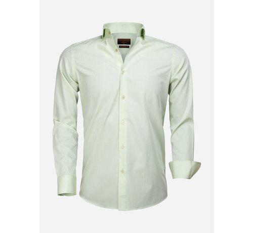 Gaznawi Overhemd Lange Mouw 65000 Cagliari Green