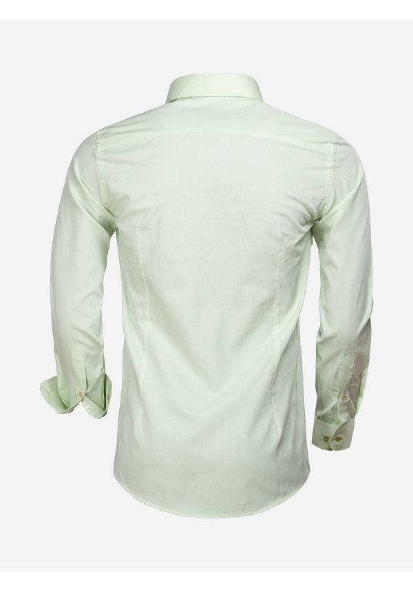 Overhemd Lange Mouw 65000 Cagliari Green