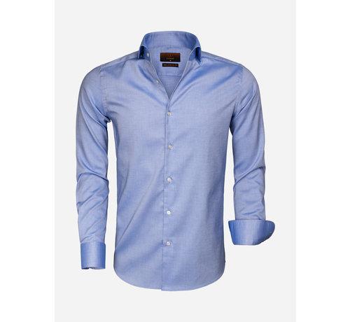 Gaznawi Overhemd Lange Mouw 65000 Cagliari Turquoise