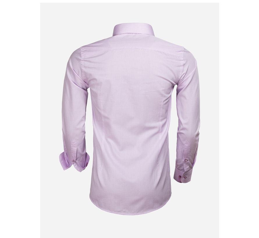 Overhemd Lange Mouw 65000 Cagliari Pink